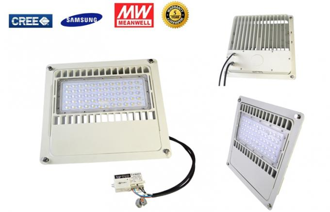 150W LED Gas Station Lights Pwith hotocell / Motion Sensor, recessed mounted