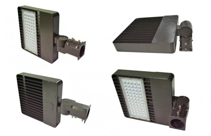 100W LED Parking Lot Lights with Dimmable function, pole / wall mounting