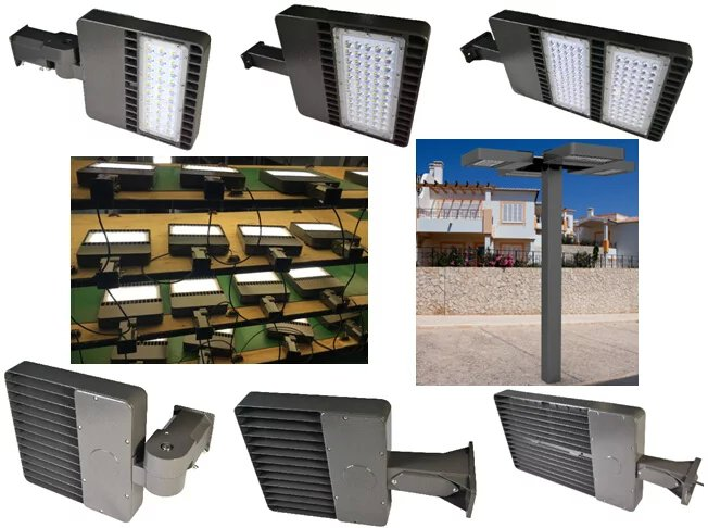200Watt led parking lot lights SAMSUNG chips and meanwell driver for LED Shoe box light