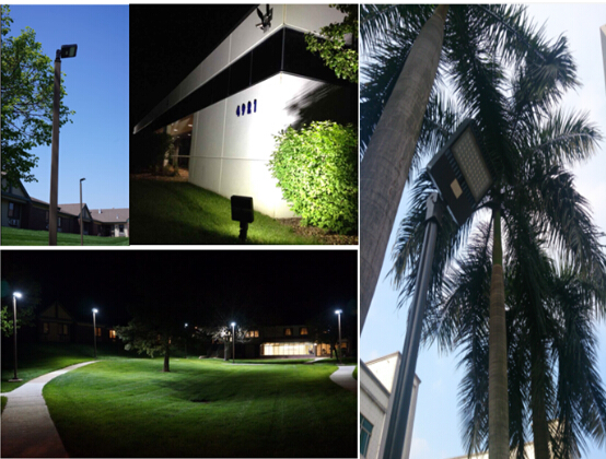 High Efficiency LED Parking Lot Lighting Cree Chip 300 W Led Street Light