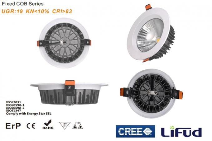 30w 2400LM 8 Led Downlight Warm White/ Pure White Exterior Recessed Led Downlight