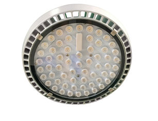 ประเทศจีน 22600lm Meanwell HLG Series Driver Led Canopy Lights Tempered Glass Reflector ผู้ผลิต