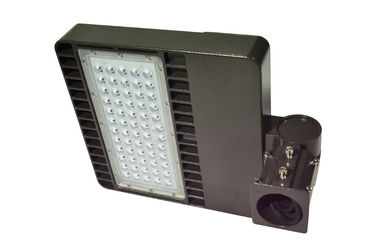 ประเทศจีน 100W LED Parking Lot Lights with Dimmable function, pole / wall mounting ผู้ผลิต