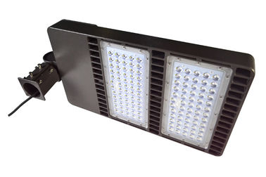 ประเทศจีน Portable 160W LED Parking Lot Lighting , Outdoor Led Shoe Box Light ผู้ผลิต