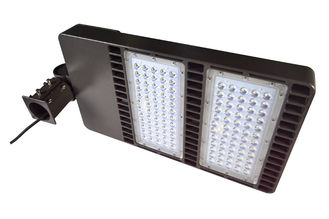 ประเทศจีน Waterproof Led Shoebox Light 160 W 20800 Lumen Meanwell Led Driver ผู้ผลิต