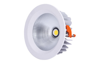 ประเทศจีน 40w COB Led Downlight  IP44 8 Inch Cut Out 208mm Dali Dimmable Driver ผู้ผลิต
