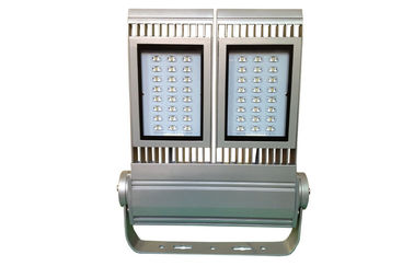 ประเทศจีน 140W IP67 CE, DLC High Power LED Flood Light 14560 Lumen Silver Grey / Black color ผู้ผลิต