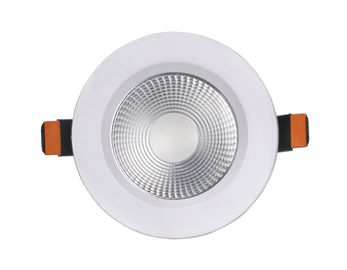ประเทศจีน 30w 2400LM 8 Led Downlight Warm White/ Pure White Exterior Recessed Led Downlight โรงงาน