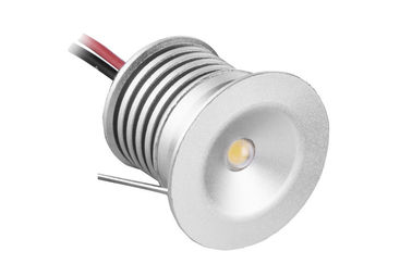 ประเทศจีน CRI 80 1 Watt Small Recessed LED Downlights 98LM/W For Washroom , Bathroom โรงงาน