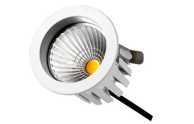 ประเทศจีน Edison Leds IP20 9Watts 750LM Dimmable LED Down Lights , 45 deg COB Hotel light โรงงาน