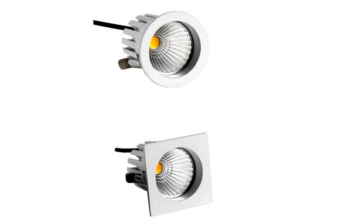 Dimmable LED Down Lights IP20 MR16 630LM 45 degree 9W CE Driver